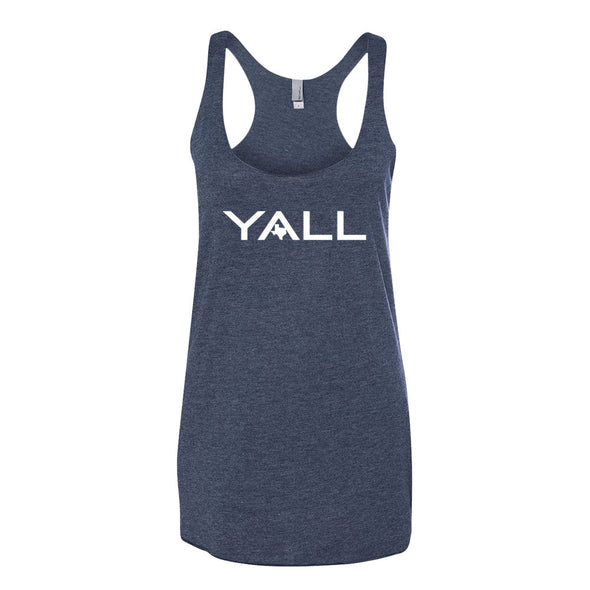 Y'all Surf Style (White Print) Womens Tank - ATX HUMOR