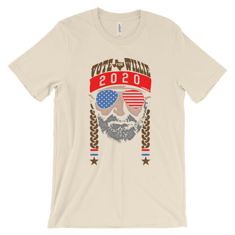 Vote For Willie Nelson 2020 Unisex Shirt - ATX HUMOR