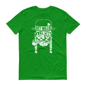 Get Willie Lucky St. Paddy's Day - Willie Nelson Inspired - Unisex T-Shirt - ATX HUMOR