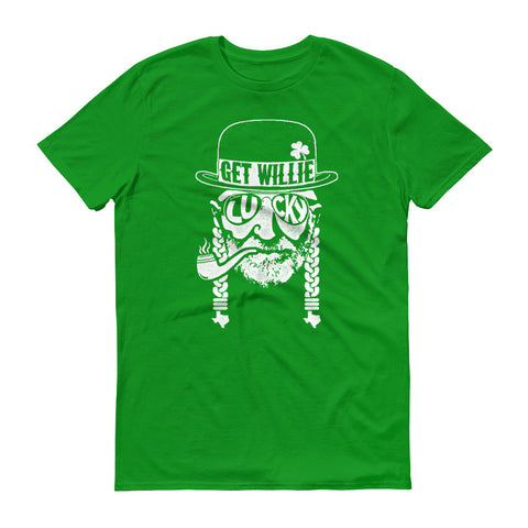 Get Willie Lucky St. Paddy's Day Unisex Shirt