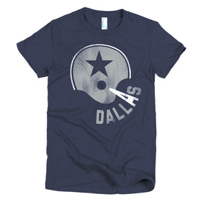 Dallas Texas Football Womens T-Shirt - ATX HUMOR