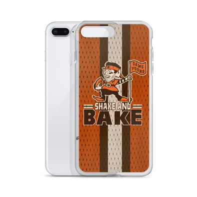 Shake and Bake - Baker Mayfield - Flag Plant - Cleveland Browns Inspired - iPhone Case - ATX HUMOR