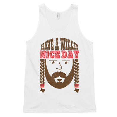 Have A Willie Nice Day Throwback Classic Tank - ATX HUMOR