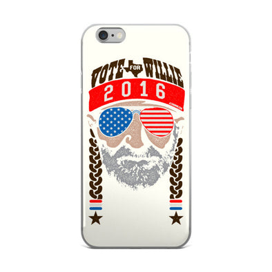 Vote For Willie 2016 iPhone Case - ATX HUMOR