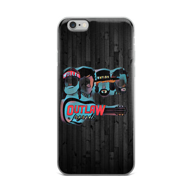 Texas Outlaw Legends Abstract iPhone Case - ATX HUMOR