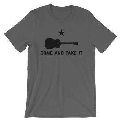 Come and Take it - Texas Guitar - Country Music - Unisex T-Shirt - ATX HUMOR