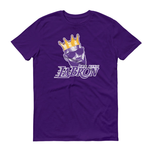 LaBron James The King - LeBron James Los Angeles LA Lakers Inspired - Unisex T-Shirt - ATX HUMOR