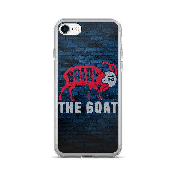 Tom Brady The GOAT iPhone 7/7 Plus Case - ATX HUMOR