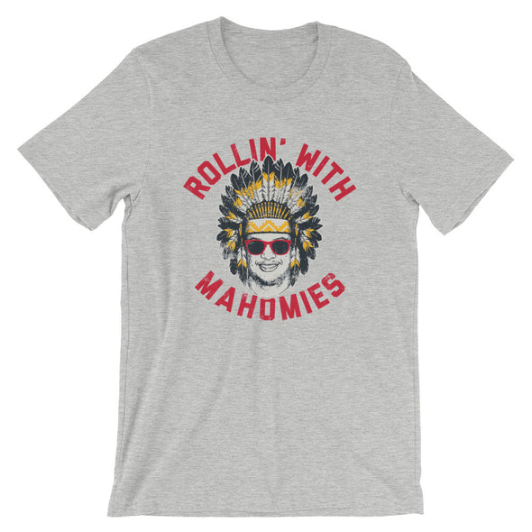 Rollin' With Mahomies - Patrick Mahomes Chiefs Inspired - Unisex T-Shirt - ATX HUMOR