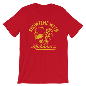 Showtime with Mahomies - Patrick Mahomes Kansas City Chiefs Inspired -  Unisex T-Shirt - ATX HUMOR