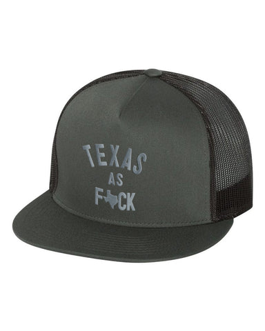 Texas As F*ck Snapback Hat - ATX HUMOR
