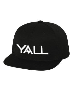Y'all Surf Style Snapback Hat