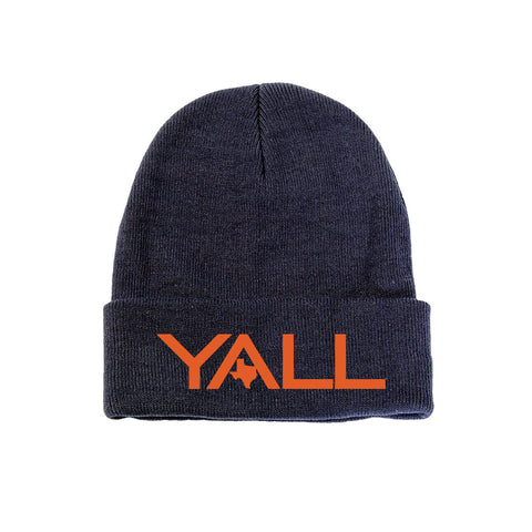 Y'all Surf Style Beanie - ATX HUMOR