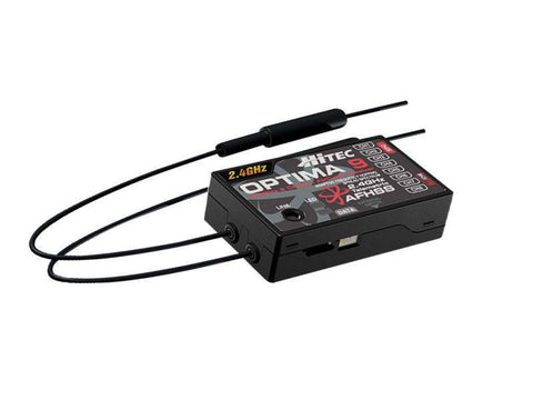 Hitec Optima 9 2.4GHz AFHSS Receiver | RC Overstock