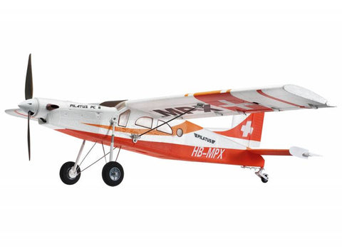 Multiplex Pilatus PC-6 Porter Red | RC Overstock