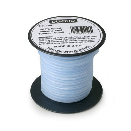 Du-Bro #196 Small Super Blue Silicone Tubing 1FT | RC Overstock