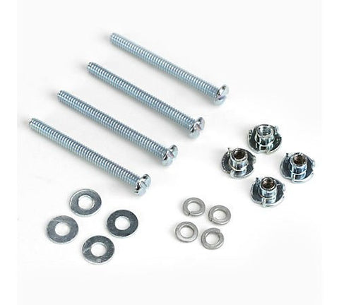 "Du-Bro Mounting Bolts & Blind Nuts 4-40 x 1-1/4"" (QTY/PKG: 4 ) 