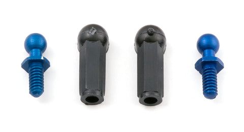 Team Associated Aluminum Ball End and Cups, 10L2 | RC Overstock