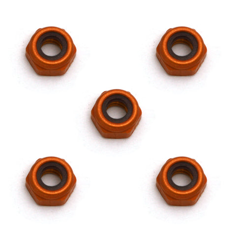 Team Associated 4/40 Mini Aluminum Locknuts (5) | RC Overstock