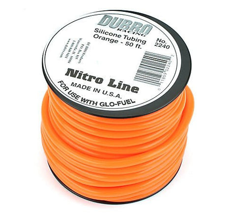 Du-Bro #2240 Nitro Line (Orange) 1FT | RC Overstock