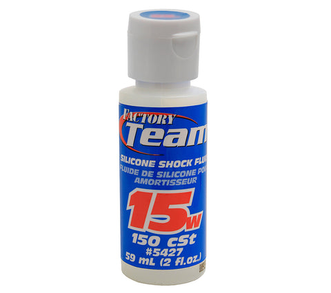 Team Associated 15Wt Silicone Shock Oil, 2 Oz | RC Overstock