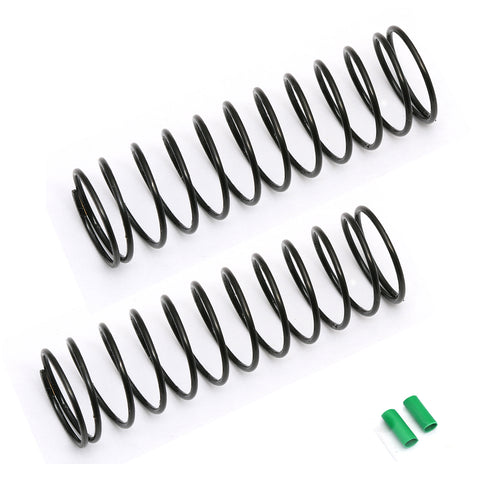 Team Associated 12mm Rear Spring, Green, 2.00 lb | RC Overstock