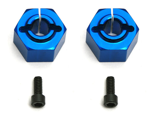 Team Associated 12mm Aluminum Clamping Wheel Hex, SC10 Rear | RC Overstock