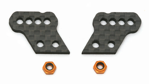 Team Associated Aluminum Hub Tower A, Graphite | RC Overstock