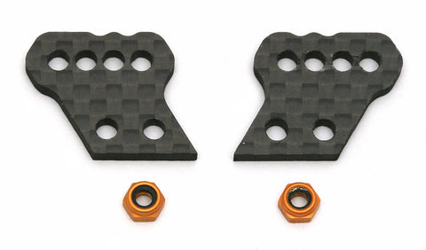 Team Associated Aluminum Hub Tower B, Graphite | RC Overstock