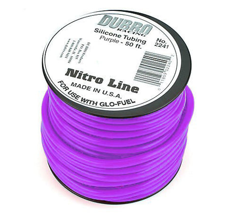 Du-Bro #2241 Nitro Line (Purple) 1FT | RC Overstock