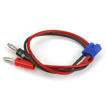 "EC3 Charge Lead with 12"" Wire and Jacks"
