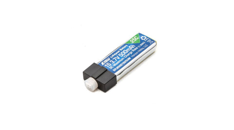 Eflite 500mAh 1S 3.7V 25C LiPo High Current UMX Connector | RC Overstock