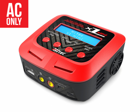 Hitec X1 Mini AC 60W Multi-charger | RC Overstock