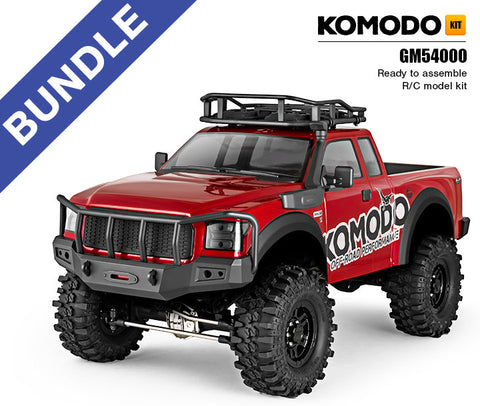 Gmade KOMODO GS01 4WD Off-Road Bundle | RC Overstock