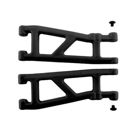 RPM Rear A-Arms (2), Black: T4, SC10 | RC Overstock