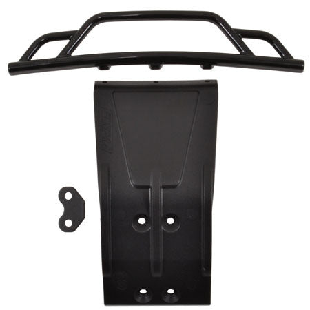 RPM Front Bumper and Skid Plate, Black: Losi SCTE | RC Overstock