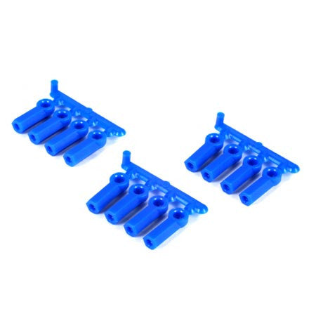 RPM Rod Ends,Heavy Duty 4-40(12)Blue | RC Overstock