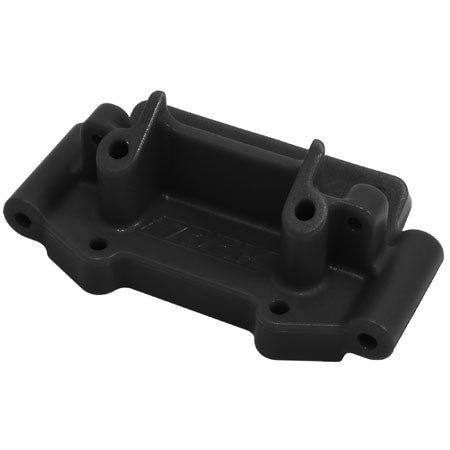 RPM Front Bulkhead, Black: TRA 2WD | RC Overstock