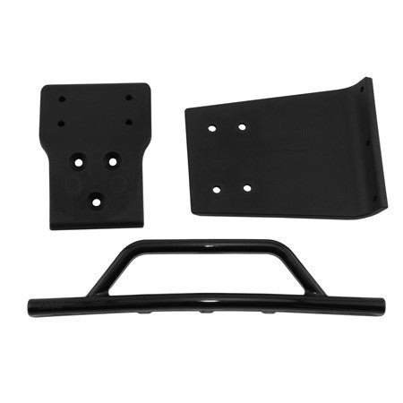 RPM Front Bumper/Skid Plate, Black: SLH 4x4 | RC Overstock