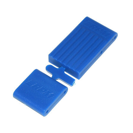 RPM Fr and R Bulkhead Brace, Blue:TMX,EMX | RC Overstock