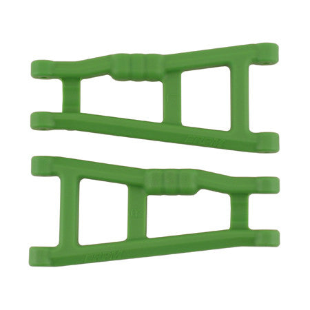 RPM Rear A-Arms, Green: Electric Rustler, Stampede | RC Overstock