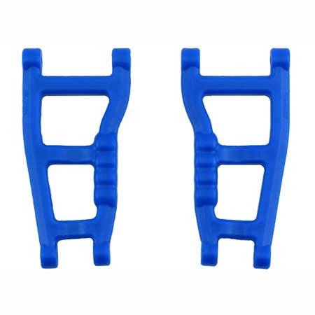 RPM Rear A-Arms (2), Blue: RU, ST | RC Overstock