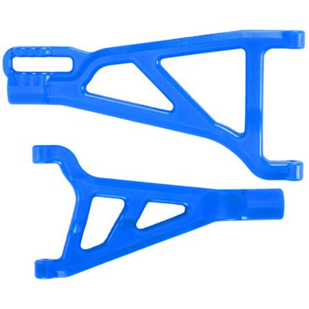 RPM Front A-Arms, Right, Blue: Revo | RC Overstock