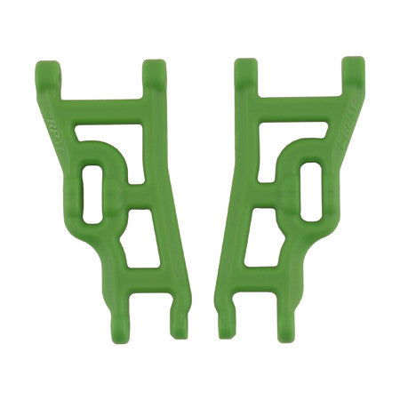 RPM Front A-Arms, Green: Elec Rustler,Stampede,SLH 2WD | RC Overstock