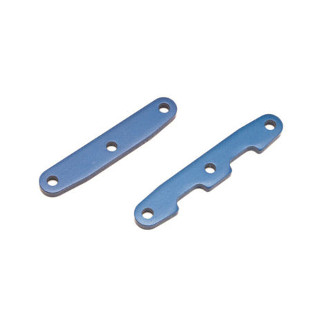 Traxxas Alum Front  and  Rear Bulkhead Tie Bars, Blue: SLH 4x4 | RC Overstock