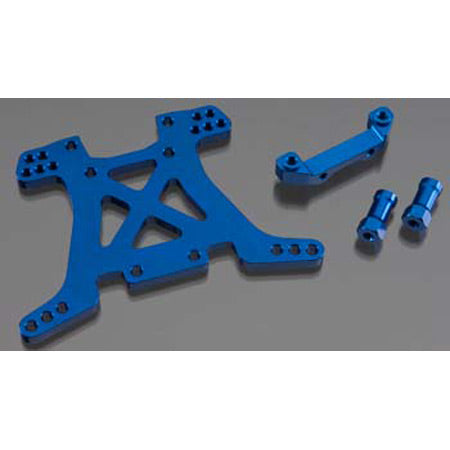 Traxxas Aluminum Rear Shock Tower, Blue: SLH 4x4 | RC Overstock