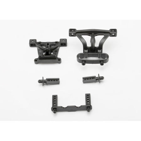 Traxxas Front  and  Rear Body Mounts:1/16 Slash  and  E-Revo | RC Overstock
