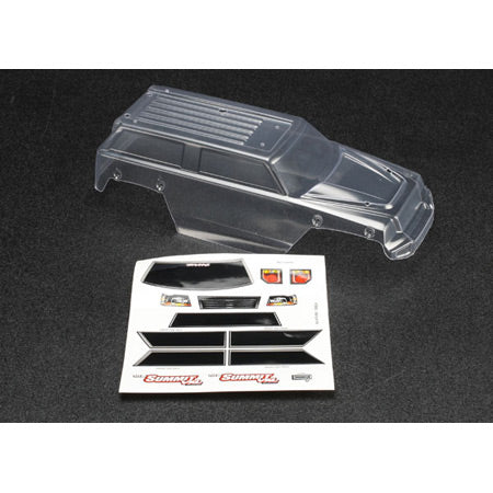 Traxxas Clear Body: 1/16 Summit | RC Overstock
