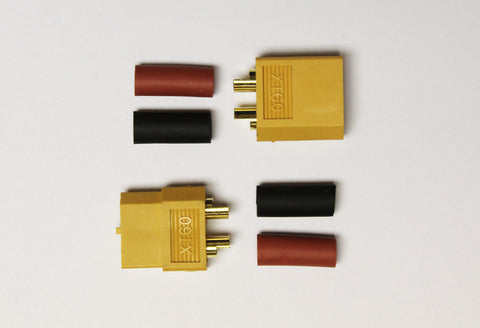RC Overstock XT60 Connector Pair (Male-Female) | RC Overstock