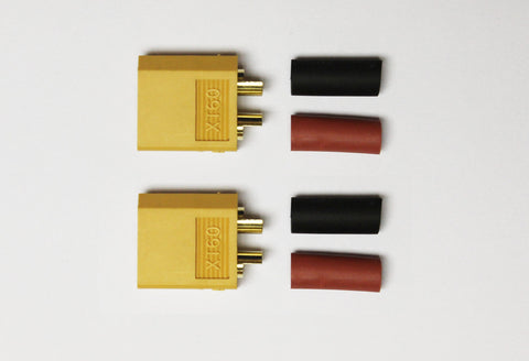 RC Overstock XT60 Connector Male (2 pk) | RC Overstock